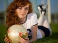 ragazza russa calcio