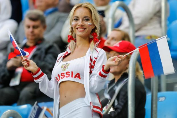 ragazze ai russe mondiali 2018